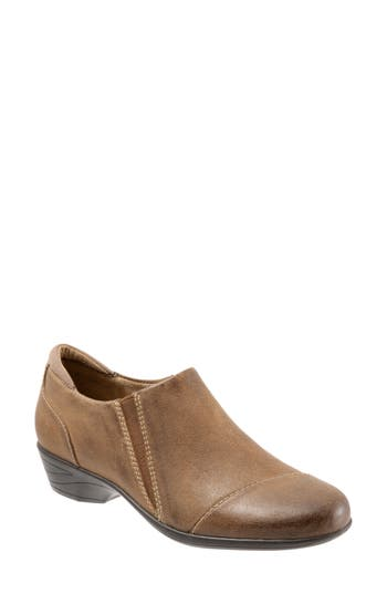 Softwalk Charming Slip-On, Brown