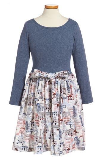 Girl's Fiveloaves Twofish American In Paris - Abbie Dress