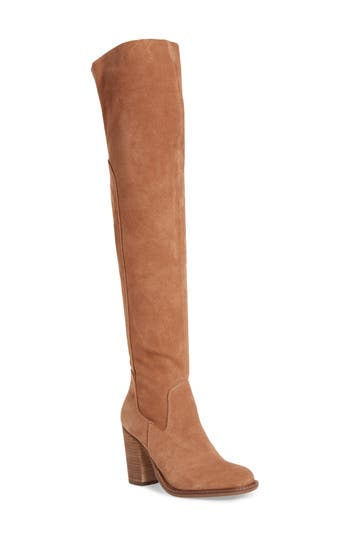 Kelsi Dagger Brooklyn Logan Over The Knee Boot- Brown