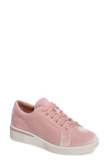 Gentle Souls Haddie Low Platform Sneaker, Pink