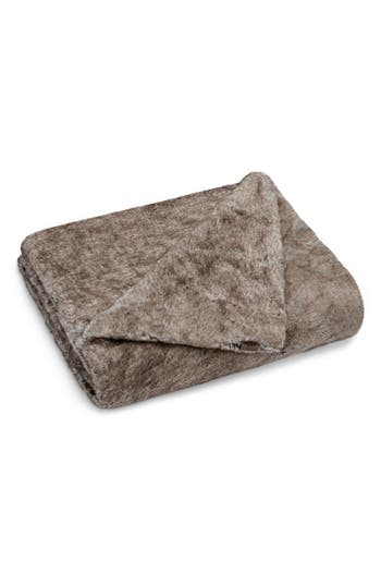Ugg Dream Faux Fur Throw, Size One Size - Brown