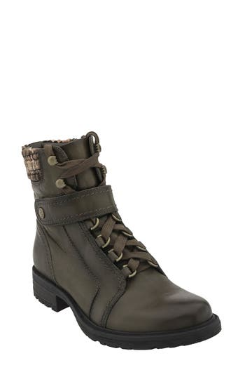 Earth Everest Lace-Up Boot- Brown
