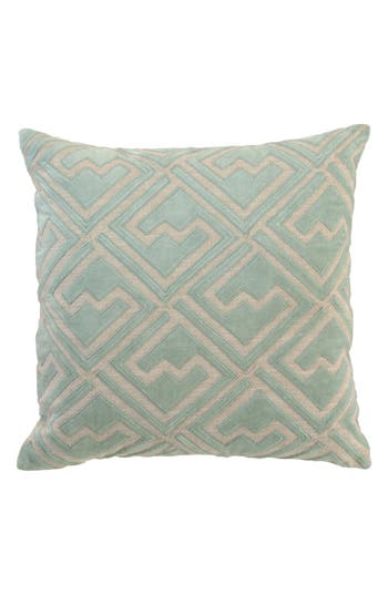 Villa Home Collection Ragno Accent Pillow, Size One Size - Blue