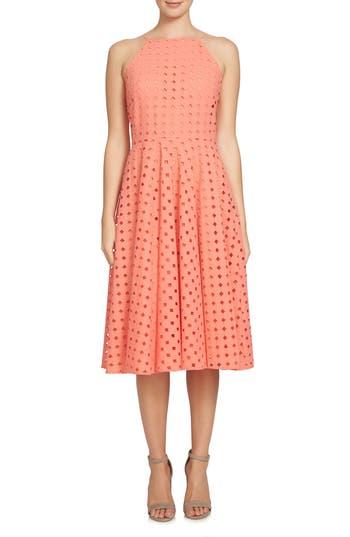 Cece Bella Fit & Flare Dress
