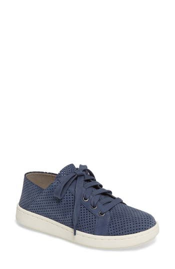 Eileen Fisher Clifton Perforated Sneaker, Blue