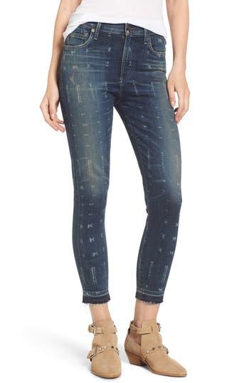 Rocket Release Hem Crop Jeans
