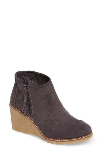 Toms Avery Wedge Bootie, Grey