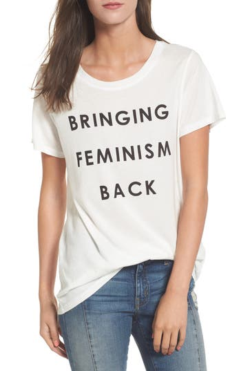 Women's Daydreamer Bringing Feminism Back Tee