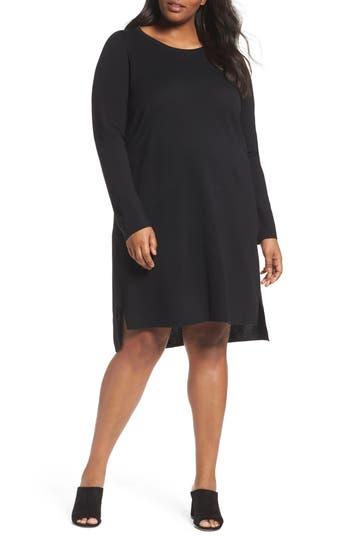 Plus Size Women's Eileen Fisher Merino Wool Sweater Dress