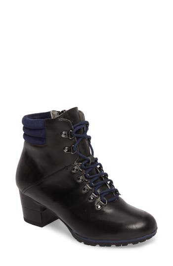 Jambu Burch Water Resistant Lace-Up Boot, Black