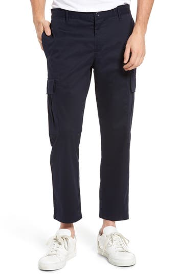 The Rail Crop Cargo Pants, Blue