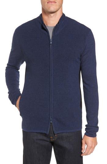 Zachary Prell Hamilton Full Zip Wool Sweater