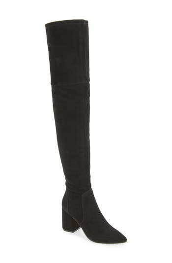Linea Paolo Bella Over The Knee Boot- Black