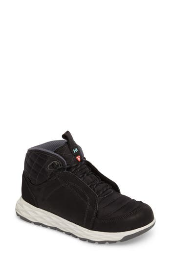 Helly Hansen Ten Below Waterproof High Top Sneaker- Black