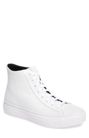 Converse Chuck Taylor All-Star Leather Sneaker- White