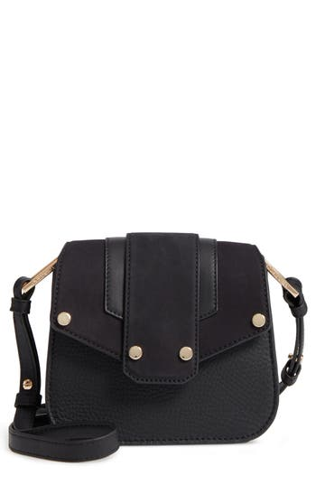 Mackage Mini Polly Leather Crossbody Bag - Black