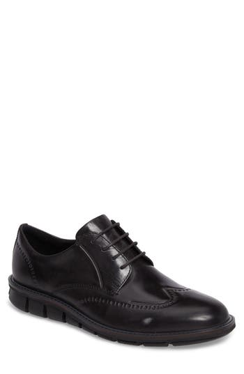 Ecco Jeremy Oxford,8.5 - Black