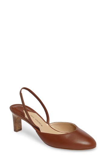 Paul Andrew Celestine Slingback Pump - Brown