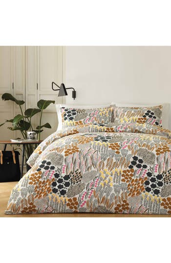 Marimekko Pieni Letto Comforter & Sham Set, Size Twin - Yellow