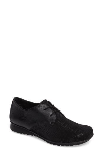 Aetrex Erin Saddle Shoe Black