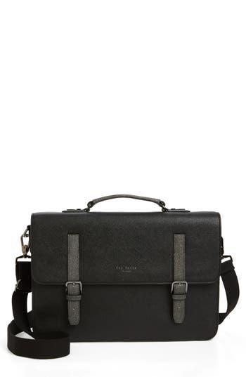 Ted Baker London Chase Messenger Bag - Black