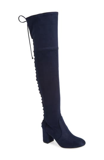 Charles By Charles David Ollie Over The Knee Boot- Blue