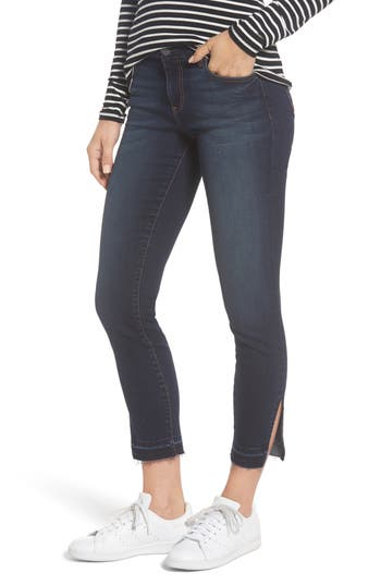 Kut From The Kloth Connie Release Hem Ankle Skinny Jeans, Blue