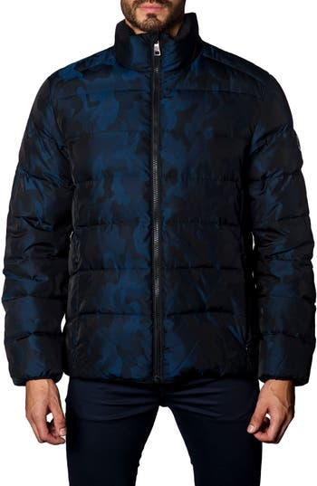 Jared Lang Down Puffer Jacket, Blue