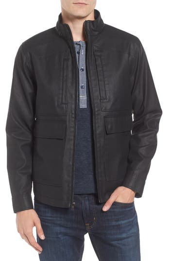 Men's Tunellus Coated Twill Jacket
