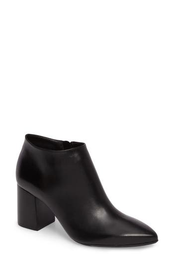 Taryn Rose Maria Pointy Toe Bootie- Black