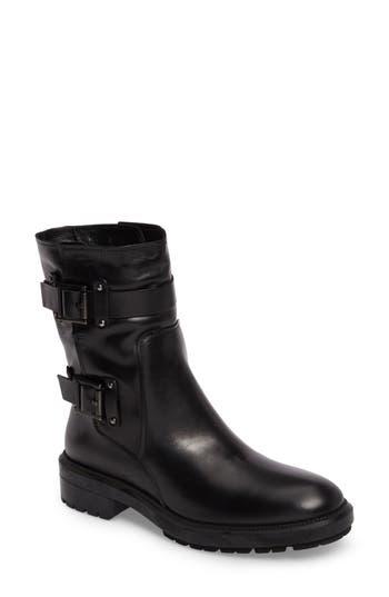 Aquatalia Leonie Weatherproof Leather Boot, Black