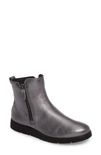 Women's Ecco 'Bella' Zip Bootie, Size 5-5.5US / 36EU - Grey