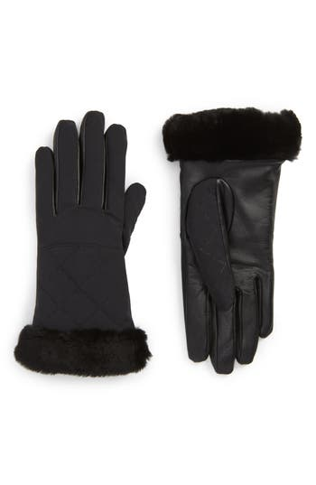 UGG Water Resistant Touchscreen Quilted Gloves