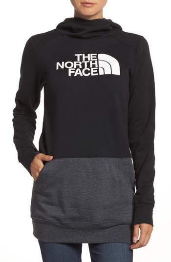 The North Face Half Dome Extra Long Hoodie, Black