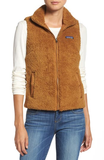 Women's Patagonia Los Gatos Fleece Vest, Size X-Small - Brown