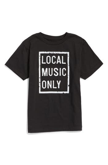 Boy's Dilascia Local Music Only Graphic T-Shirt