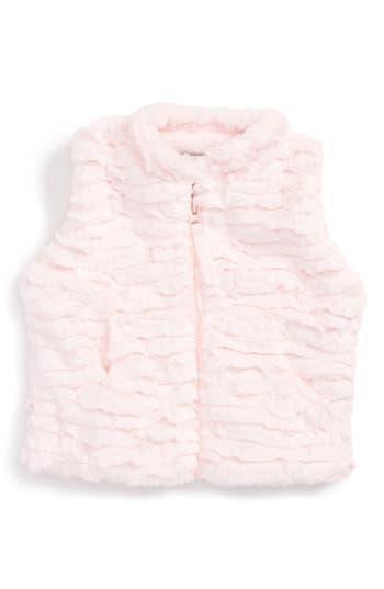 Infant Girls Widgeon Faux Fur Vest