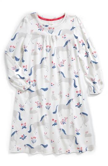 Girls Mini Boden Print Nightgown