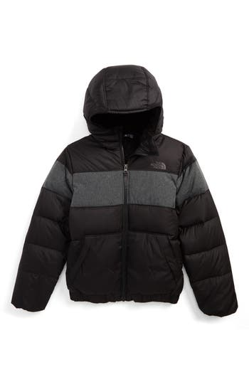 Boys The North Face Moondoggy 20 Water Repellent Down Jacket