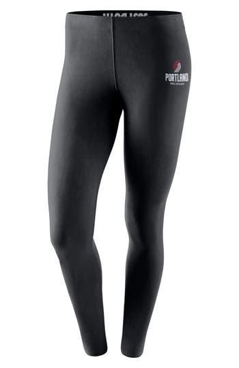 Nike Portland Trail Blazers Leg-A-See Nba Tights, Black