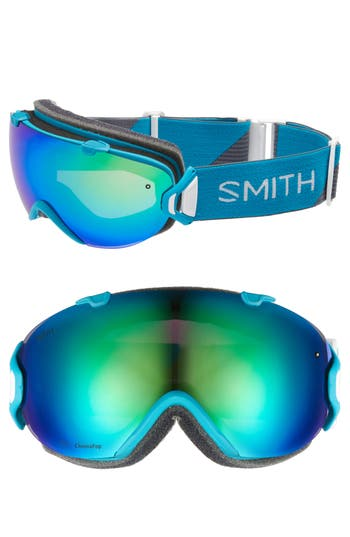 Women's Smith I/os Chromapop Snow Goggles - Mineral Split/ Mirror