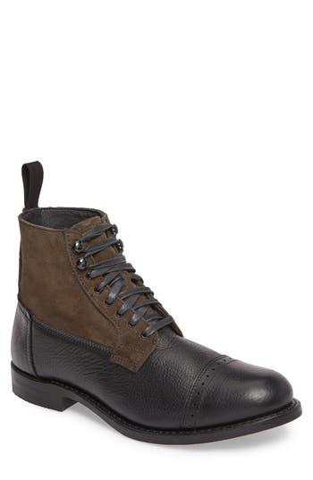 Frey Garrison Cap Toe Boot