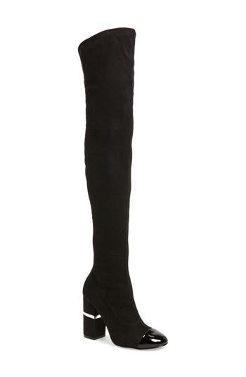 Marc Fisher Ltd Petel Over The Knee Boot, Black