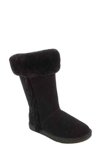 Women's Minnetonka Canyon Genuine Shearling Trim Boot at NORDSTROM.com
