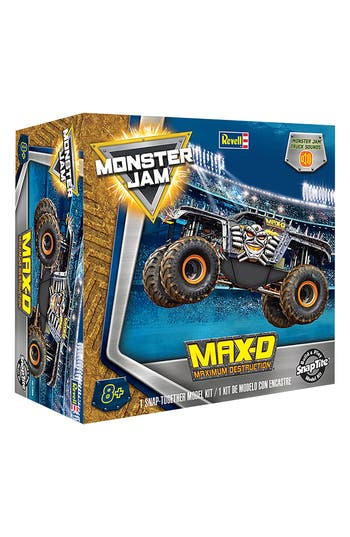 Boys Revell MaxD Maximum Destruction Snaptite Build  Play Monster Truck Kit