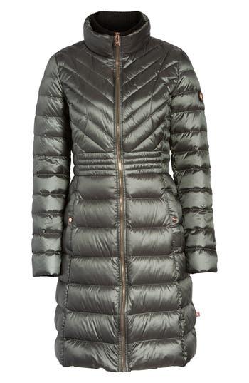 Bernardo Down & Primaloft Coat, Grey
