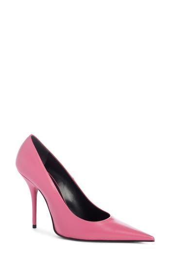 Balenciaga Pointy Toe Pump - Pink