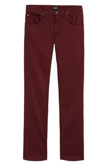 Hudson Jeans Blake Slim Fit Jeans, Red