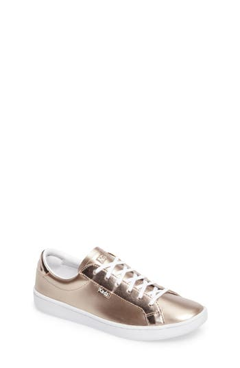 Girls Keds Ace Low Top Sneaker Size 2 M  White