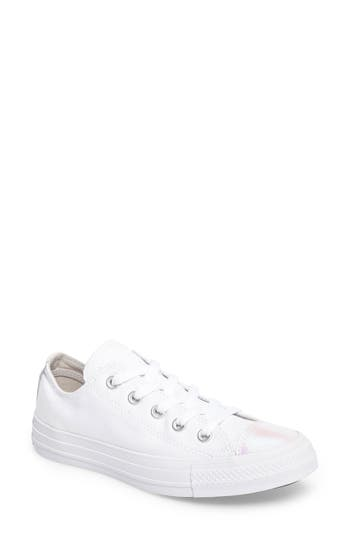 Converse Chuck Taylor All Star Seasonal Ox Low Top Sneaker, Pink